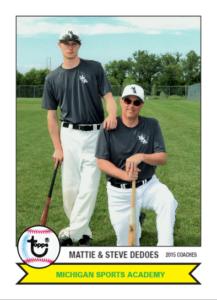 Mattie & SteveDeDoes - 2015 MSA Coaches