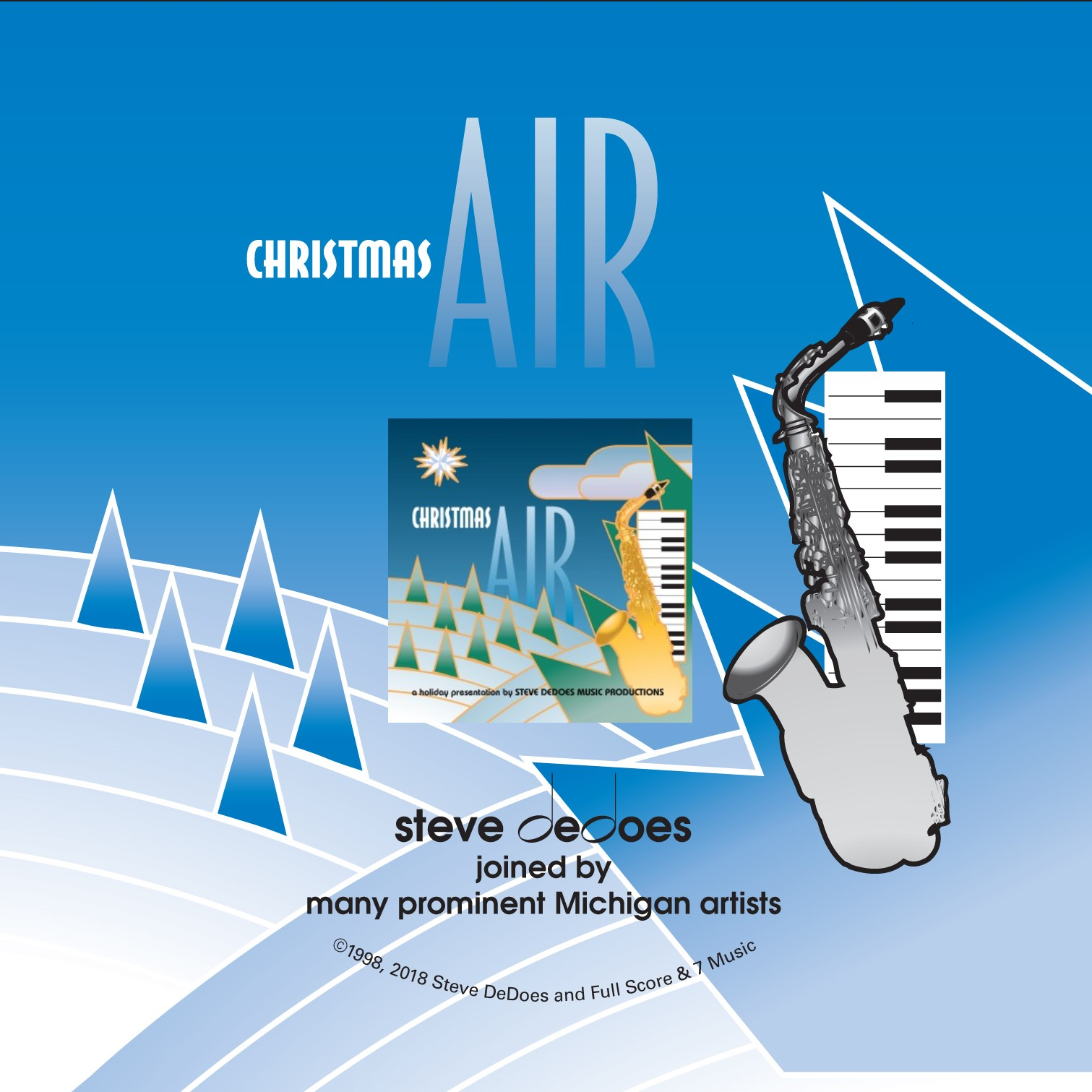 """""""Christmas Air"""" - Steve DeDoes with guest artists"""